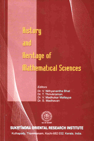 History and Heritage of Mathematical Sciences