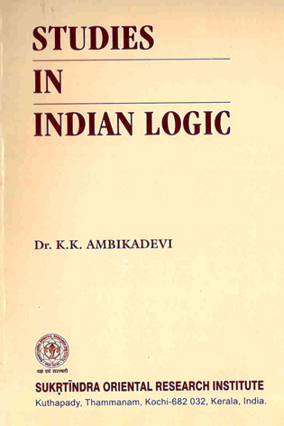 Studies In Indian Logic